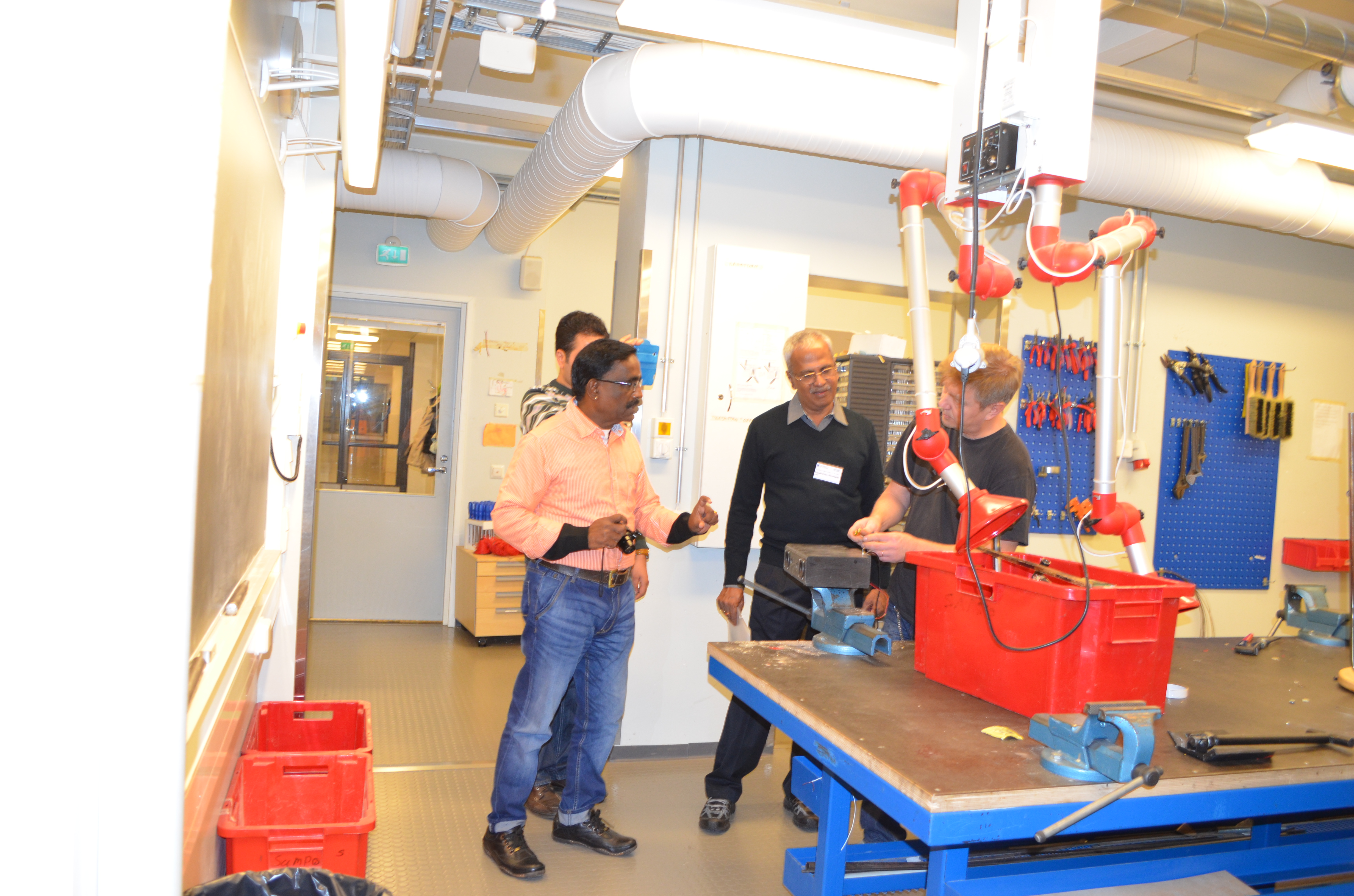 Visit to the school Lab