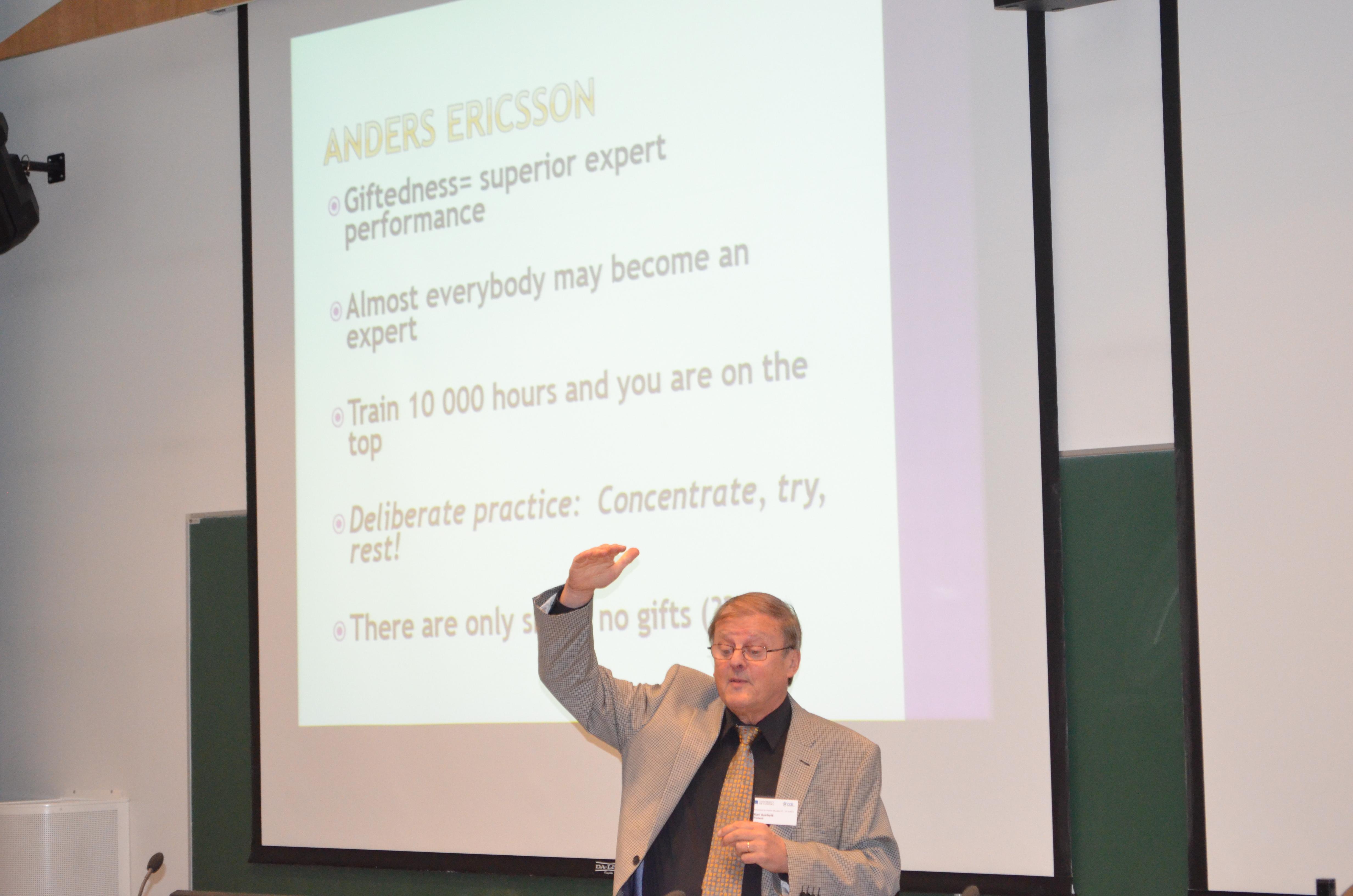 Prof.Dr. Kari , on Creativity - Key