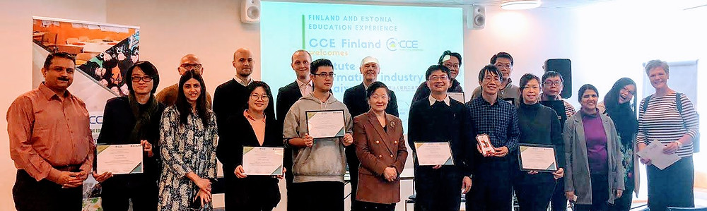 CCE Finland and III Taiwan team together at Public Event at Töölö Library