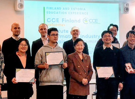 CCE Finland brings Finnish education to Taiwan