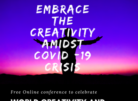 Let's celebrate World Creativity and Innovation Day on 21 April 2020