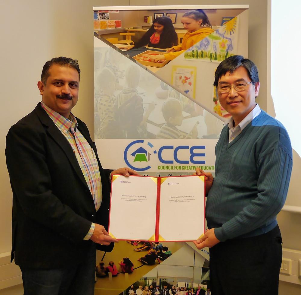 STEM Education and Teacher Training Agreement Signed