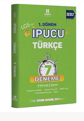 1. Dönem İpucu Türkçe 7 Deneme