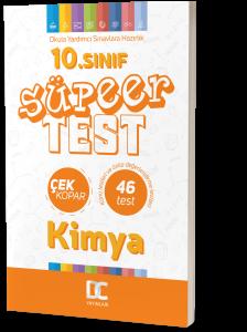 10.SINIF KİMYA SÜPER TEST