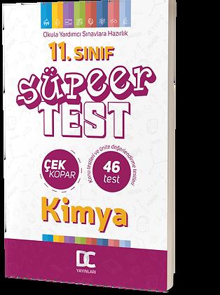 11.SINIF KİMYA SÜPER TEST
