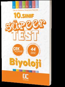 10.SINIF BİYOLOJİ SÜPER TEST