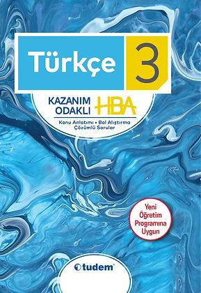 3.Sınıf Türkçe Kazanım Odaklı HBA