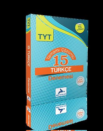 15 TYT Türkçe Denemesi (Çözümlü)