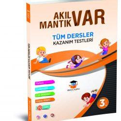 3. Sınıf Tüm Dersler Akıl Var Mantık Var Kazanım Testleri Zeka Küpü Yayınları