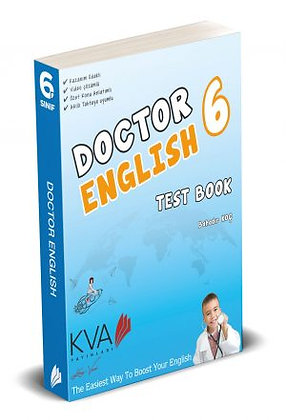 6 DOCTOR ENGLISH TEST BOOK