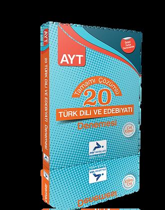 20 AYT Türk Dili ve Edebiyatı Denemesi (Çözümlü)