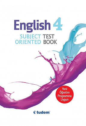4.Sınıf English Subject Oriented Test Book