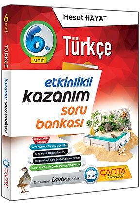 6.Sınıf Türkçe Kazanım Soru Bankası