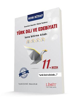 11. Sınıf Türk Dili ve Edebiyatı Konu Bitirme Kitabı Limit Yayınları