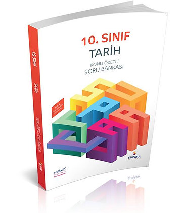10. Sınıf Tarih Konu Özetli Soru Bankası Supara Yayınları