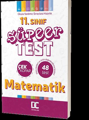11.SINIF MATEMATİK SÜPER TEST