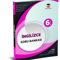 6. Sınıf İngilizce Soru Bankası Zeka Küpü Yayınları