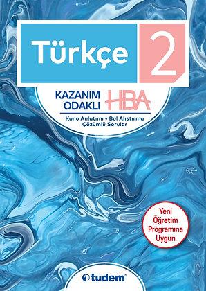 2.Sınıf Türkçe Kazanım Odaklı HBA