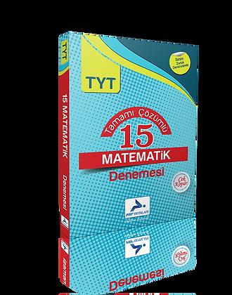 15 TYT Matematik Denemesi (Çözümlü)