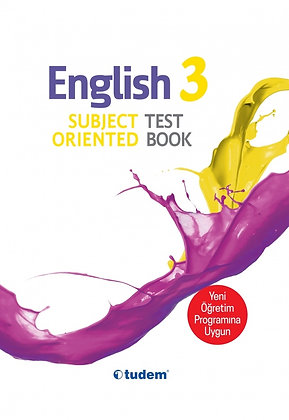 3.Sınıf English Subject Oriented Testbook