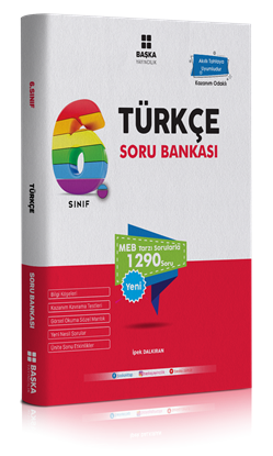 6. Sınıf Türkçe Soru Bankası Başka Yayıncılık