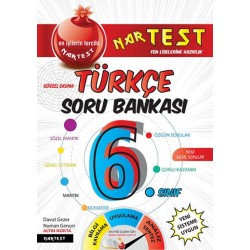 6. Sınıf Mavi Türkçe Soru Bankası Fen Liselerine Hazırlık