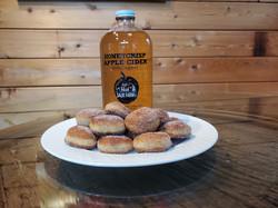 Apple cider doughnut holes