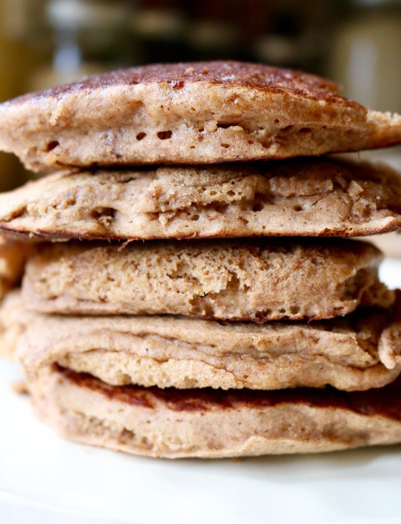 Buckwheat Apple Pancake