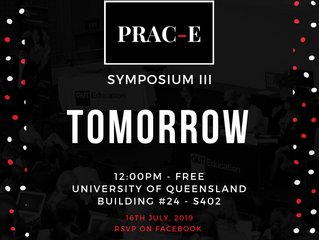 PRAC-E Symposium III - TOMORROW!