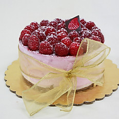 Raspberry Mousse Cake (Large)