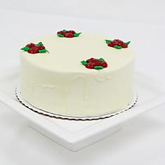 White Raspberry Euro Tort