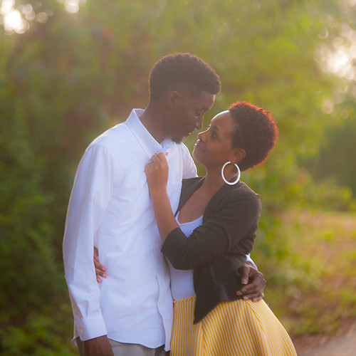 Monica & Cedric Engagement album