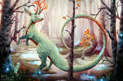 Forest Dragon (Autumn)
