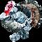 Watercolor Turkey 2