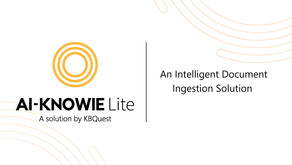 KBQuest launches Ai-Knowie Lite to deliver faster time-to-value document automation