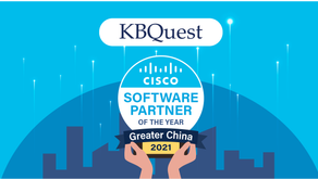 KBQuest Wins the 2021 Cisco Greater China Software Partner of the Year Award