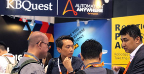 KBQuest illustrated RPA's power at Cloud Expo Asia 2019