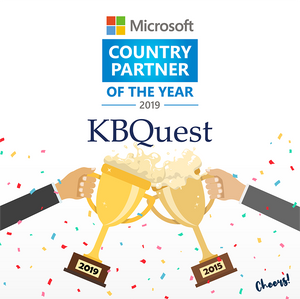 KBQuest awarded as Microsoft Country Partner of the Year 2019