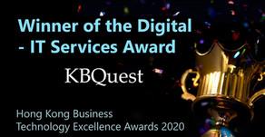 KBQuest won the Digital – IT Services Award