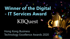 KBQuest won the Digital – IT Services Award