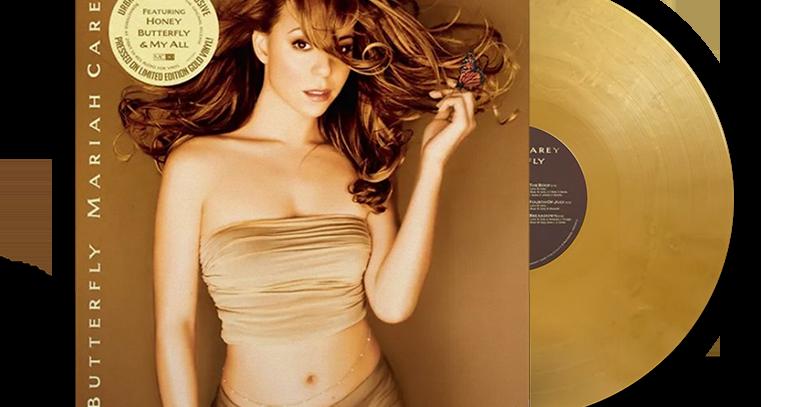Mariah Carey - LP Butterfly Limitado Dourado