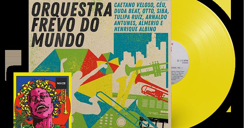 Orquestra Frevo Do Mundo LP + Revista Noize