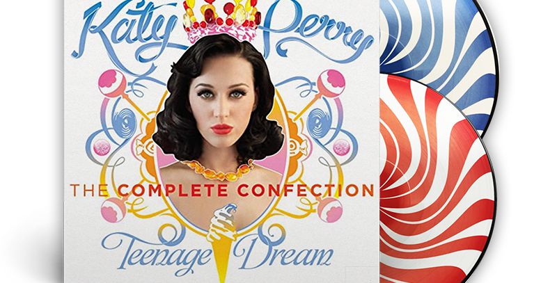 Katy Perry - 2x LP Teenage Dream: The Complete Confection Limitado