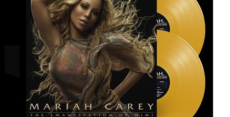 Mariah Carey - 2x LP The Emancipation Of Mimi Limitado Dourado