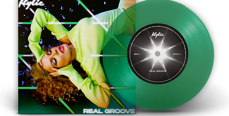 "Kylie Minogue - Vinil 7"" Real Groove Verde Limitado"