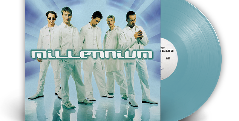 Backstreet Boys - LP Limitado Millennium Azul Bebê