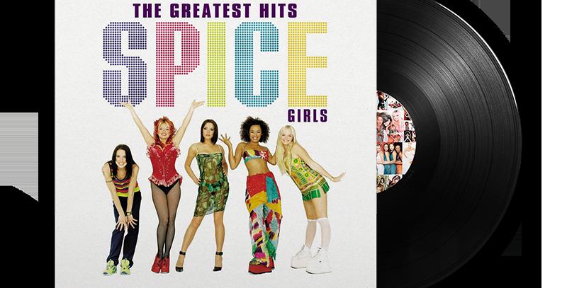 Spice Girls - The Greatest Hits LP Preto UK