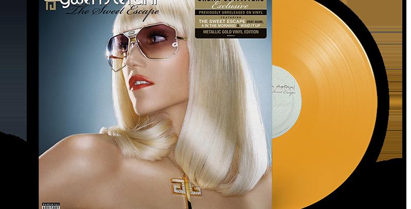 Gwen Stefani - LP The Sweet Escape Limitado Dourado