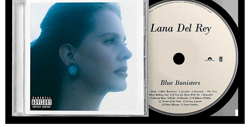 Lana Del Rey - CD Blue Banisters #2