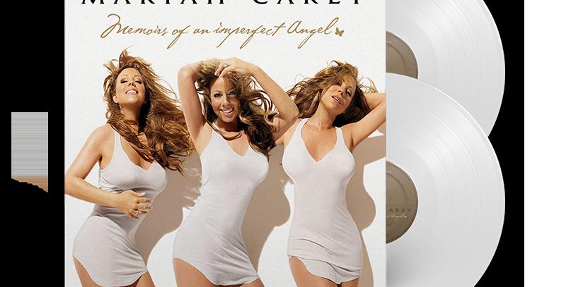 Mariah Carey - 2x LP Memoirs Of An Imperfect Angel Branco Limitado